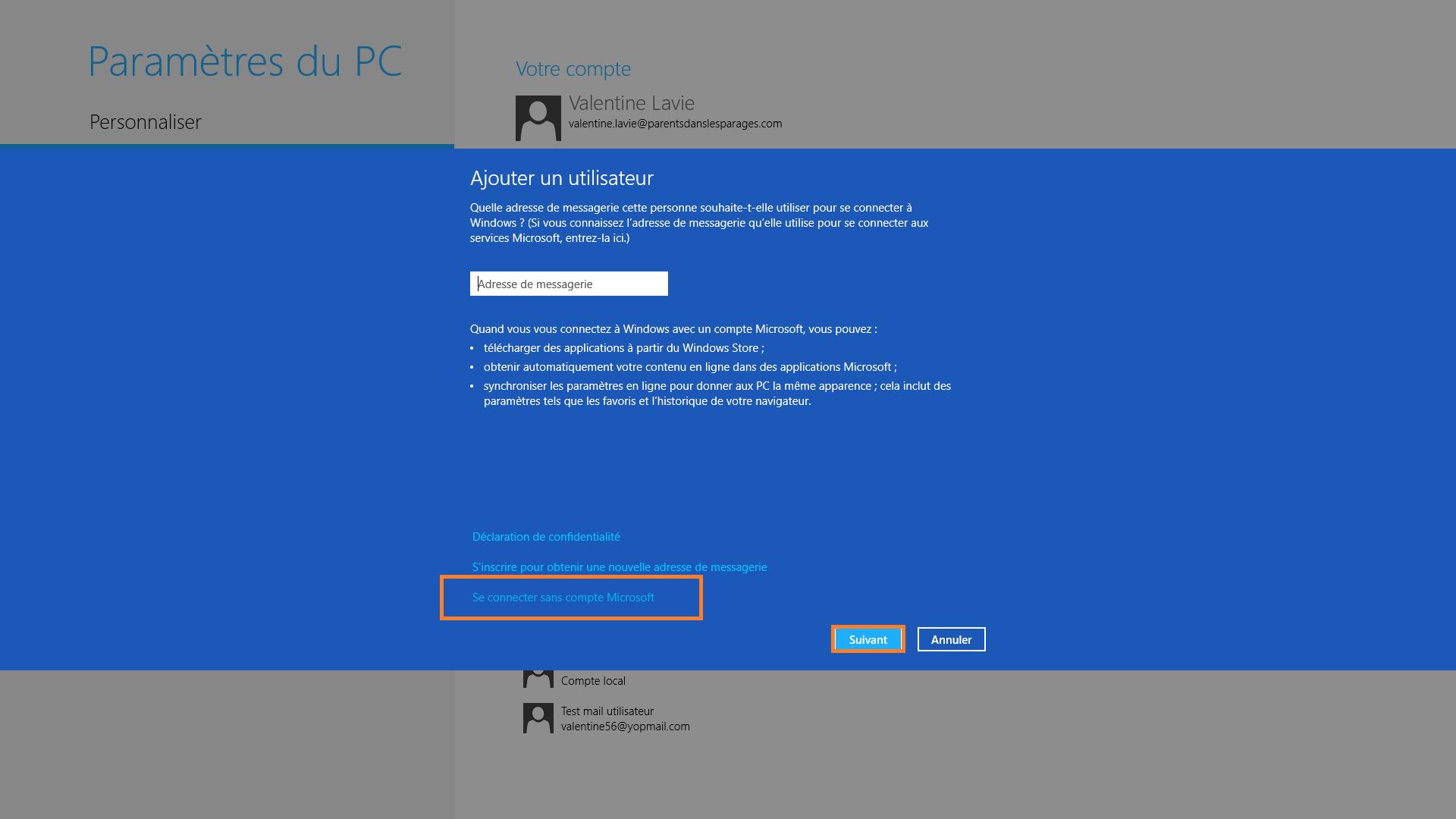Creer Une Nouvelle Session Utilisateur Sous Windows 8