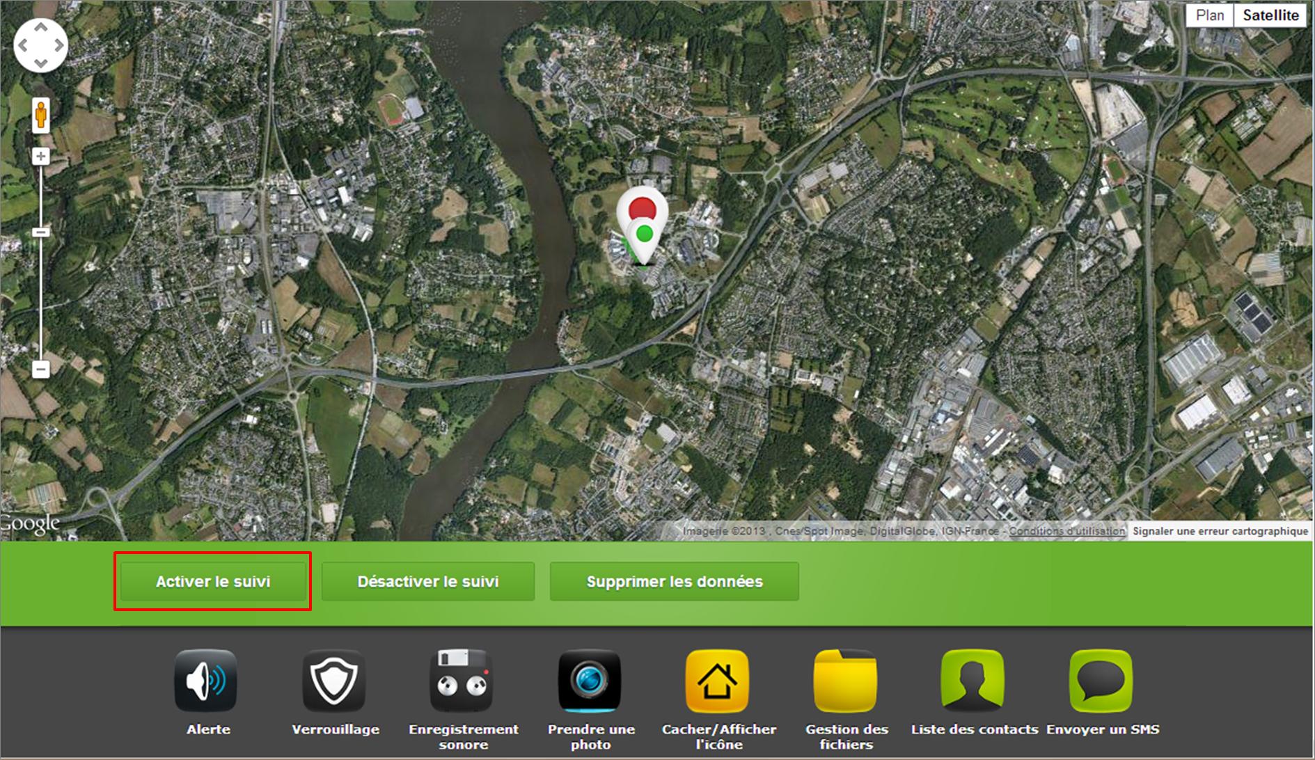 Déclencher la géolocalisation de votre mobile Android