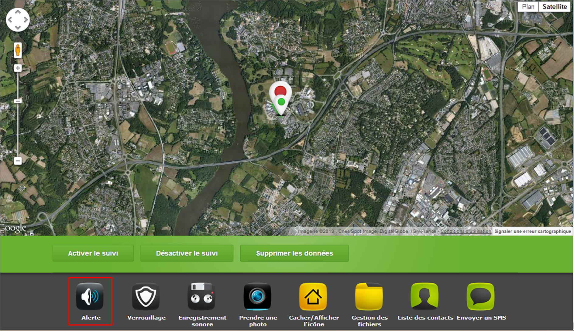Déclencher une alerte sonore à distance avec votre Smartphone Android
