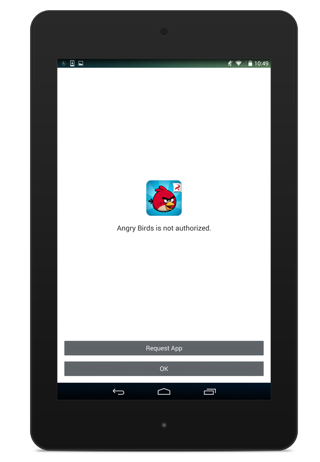 App request