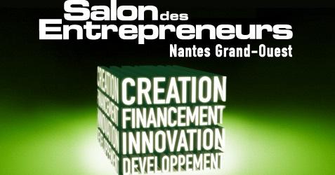 Le co-fondateur d'Ars Nova systems au salon des Entrepreneurs 2013