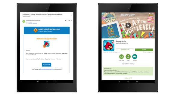 Obtenez plus d'infos sur les demandes d'applications Android