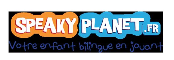 logo speaky planet