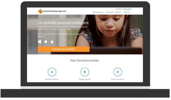 Un nouveau site Web pour le contrôle parental Parentsdanslesparages.com