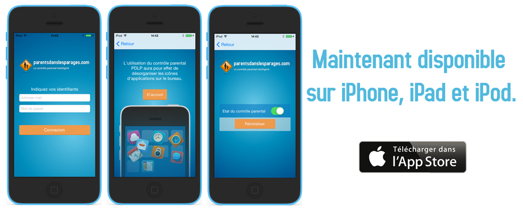 controle parental iphone et ipad