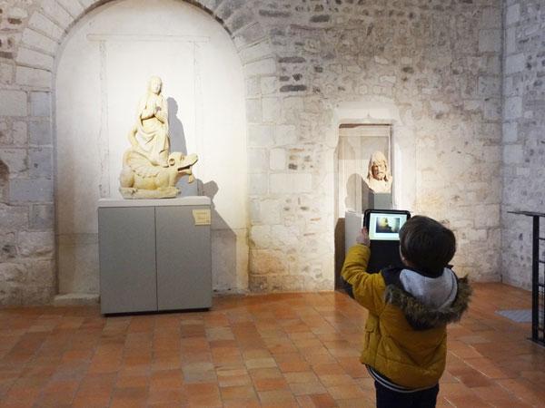 visite de musée interactive