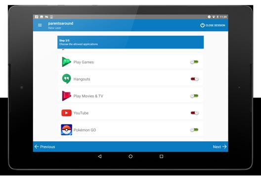 Gestion des applications sur tablette Android