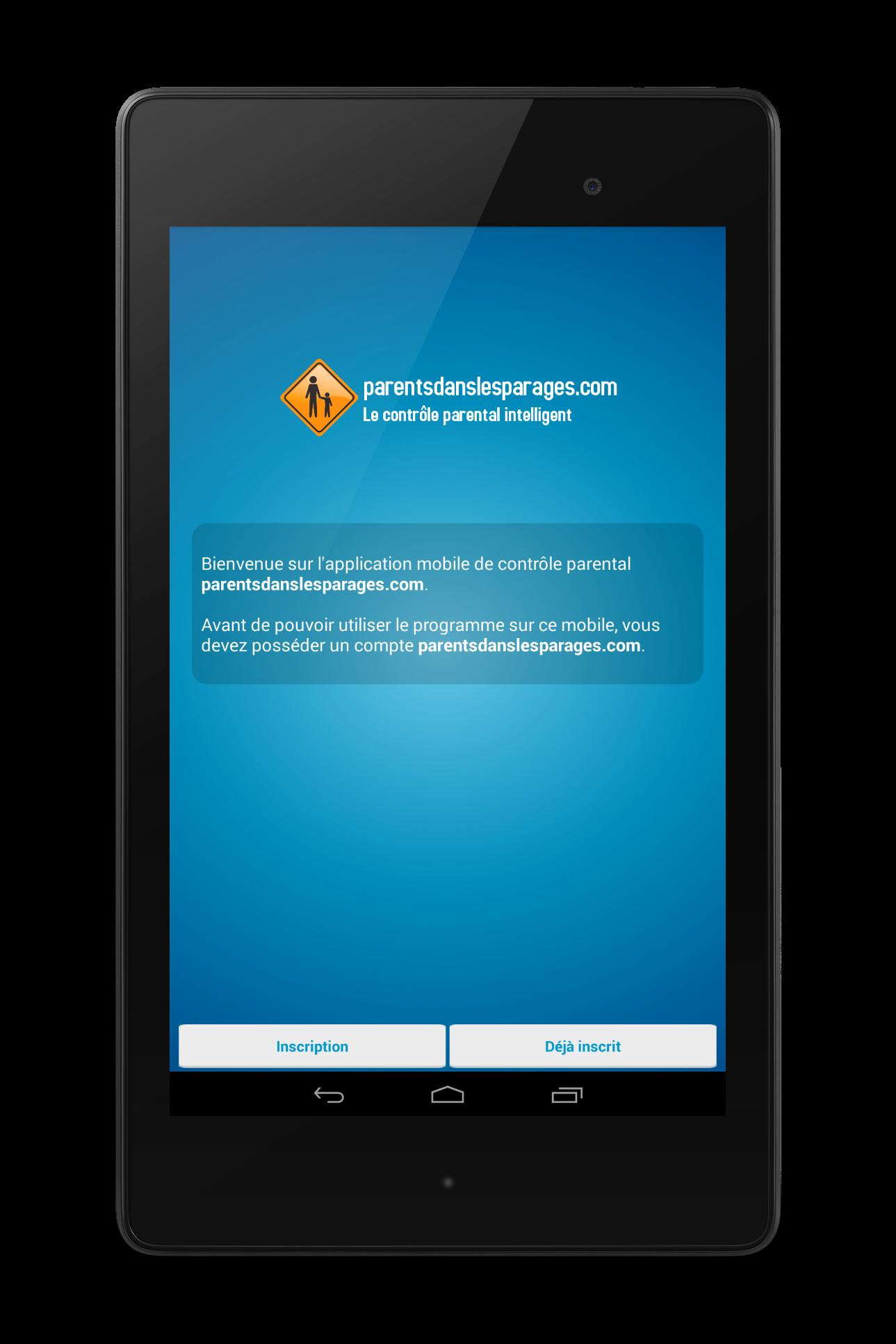 controle parental PDLP sur Android