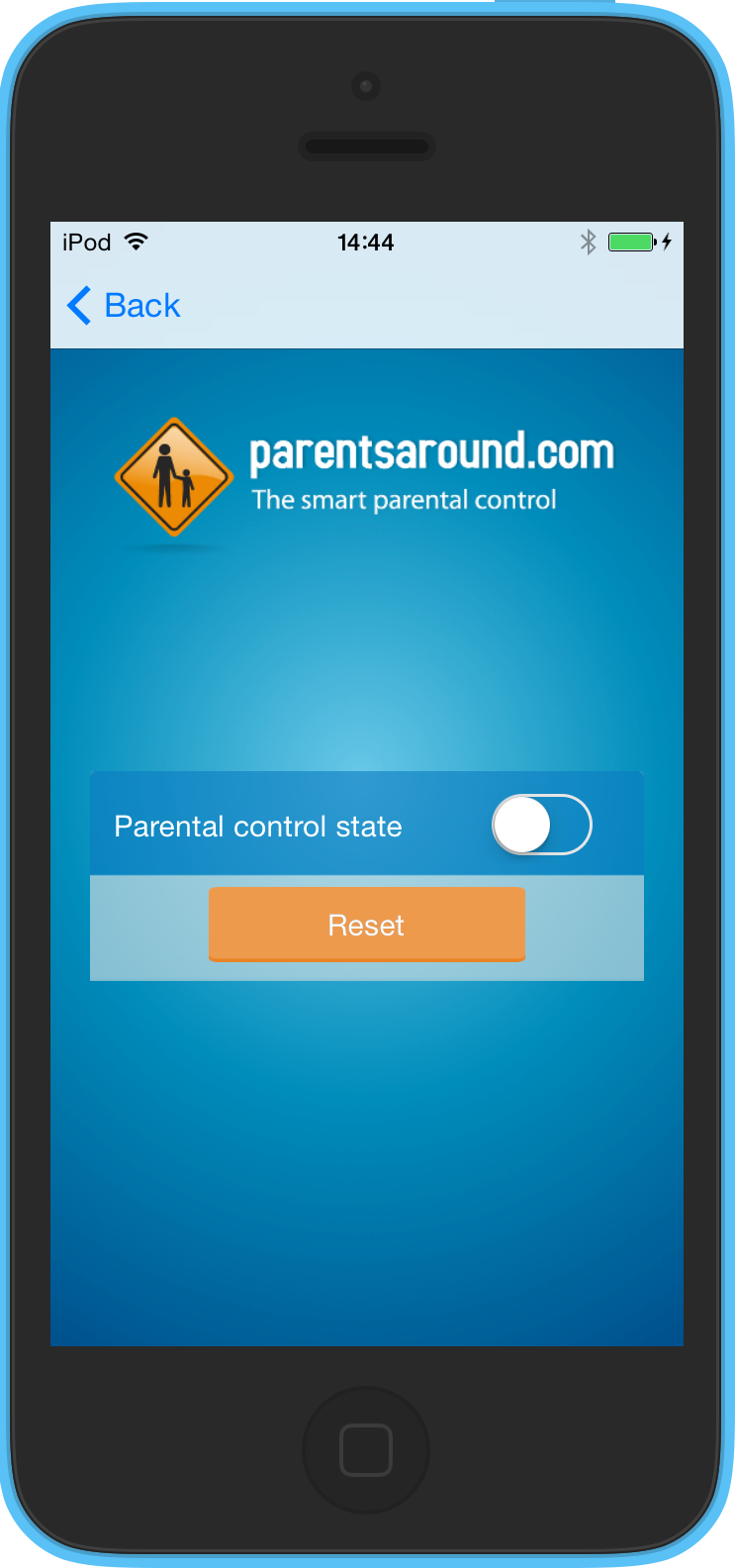 Set off the parental control  on iOS