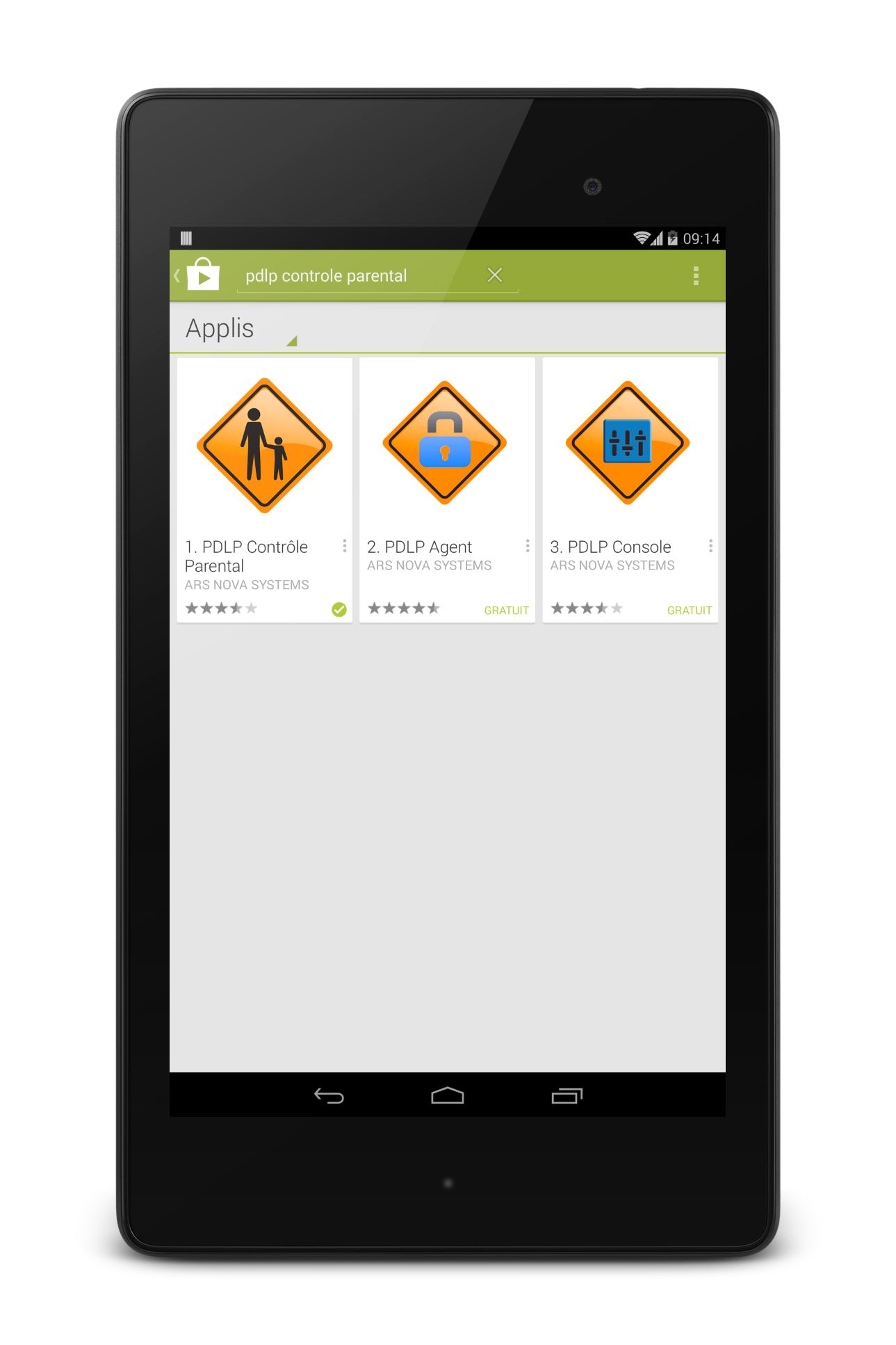 google play sur tablette takara